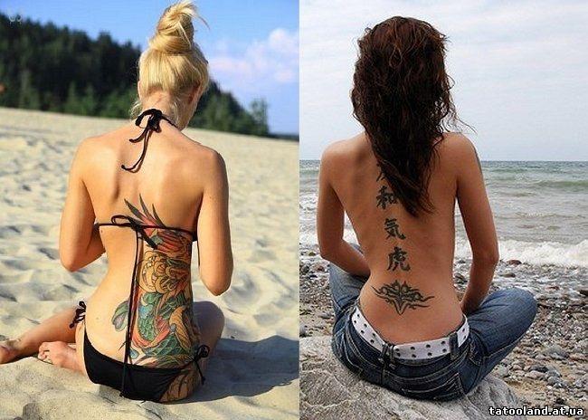 Фото модные тату для девушек 2017-2018